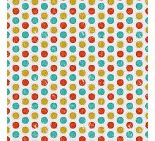 Colorfull Kawaii Cute Polka Dot Photographic Print