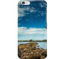 Rock Hopping at Urunga iPhone Case/Skin