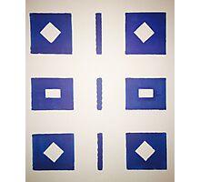 Geometric Pattern Photographic Print