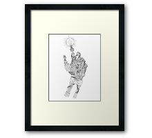 Mechanical Genius Framed Print