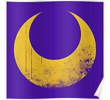 Sailor Moon grunge symbol Poster