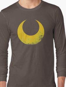 Sailor Moon grunge symbol Long Sleeve T-Shirt