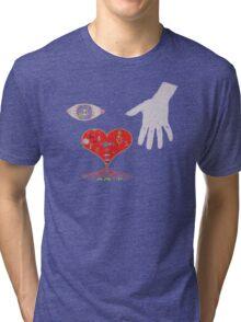 I Love Art. Tri-blend T-Shirt