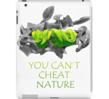 You can't cheat nature - snake iPad Case/Skin
