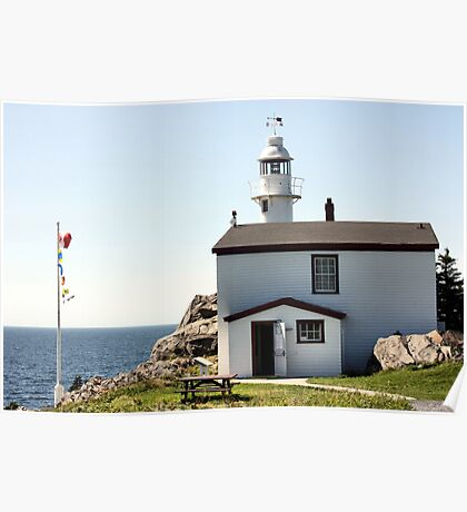 Lobster Cove Head Lighthouse Rocky Harbor Poster