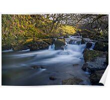 Nant Ffrancon Pass River Poster