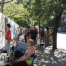 Art Around the Park. East Village NYC Sept 11/12 by John Sunderland