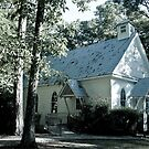The Old Country Church by Phillip M. Burrow