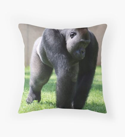 Goodness Gorilla Throw Pillow