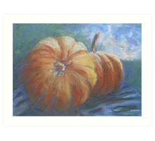 Plump Pumpkins Art Print
