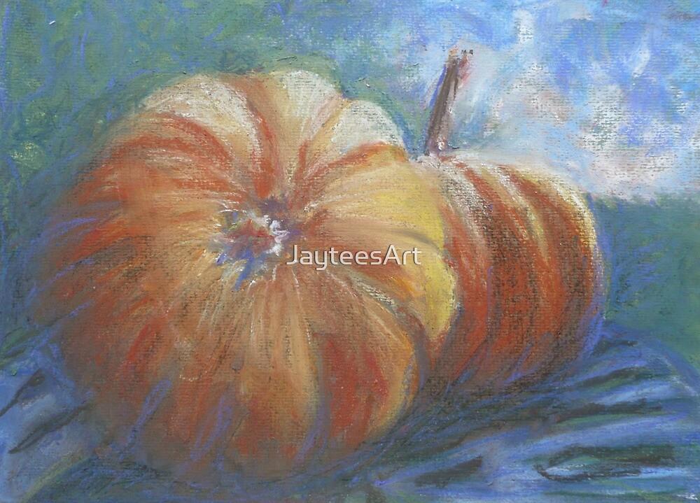 Plump Pumpkins by JayteesArt
