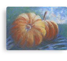 Plump Pumpkins Canvas Print