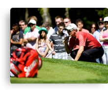PGA Justin Rose Canvas Print