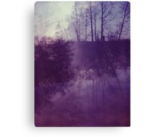 Dreamy Purple Trees Canvas Print