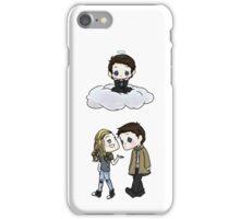 Claire Novak, Jimmy Novak, Castiel iPhone Case/Skin