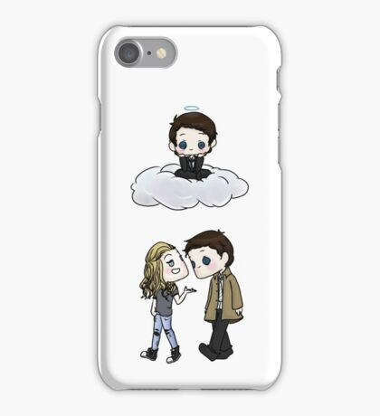 Claire Novak, Jimmy Novak, Castiel iPhone Case/Skin