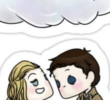 Claire Novak, Jimmy Novak, Castiel Sticker