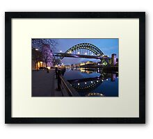 The Tyne Bridge, Newcastle upon Tyne Framed Print