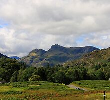The Langdale Pikes by Paul Bettison