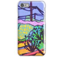 Poles & Wires iPhone Case/Skin