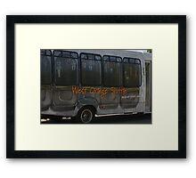 Commuter Sardines Framed Print