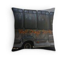 Commuter Sardines Throw Pillow