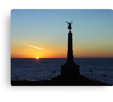 Cenotaph in Aberystwyth - Wales Canvas Print