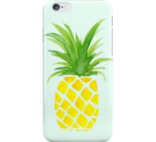 Watercolor Pineapple iPhone Case/Skin