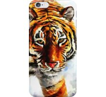 Tiger on The Snow iPhone Case/Skin