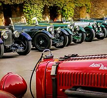Vintage Aston Martins.  by ScenicViewPics