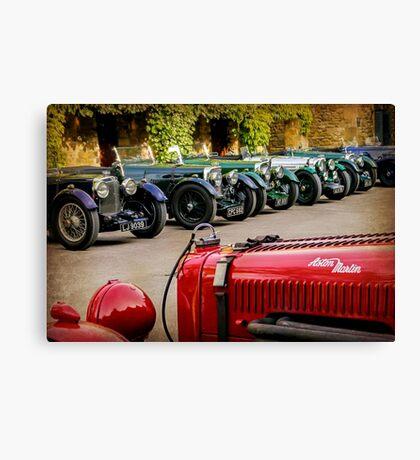 Vintage Aston Martins.  Canvas Print