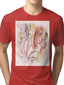 Flowers of Anderson Indiana Tri-blend T-Shirt