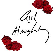 Floral Girl Almighty - One Direction by madeoflightingg