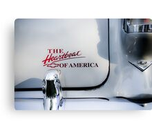 The Heartbeat of America Canvas Print