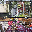 In the kitchen- Station St by maria paterson