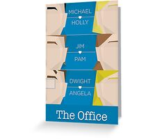 The Office - Love Story Greeting Card
