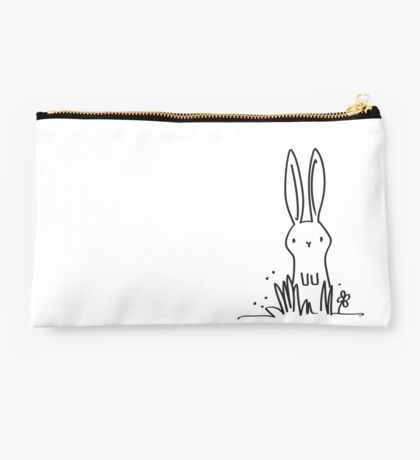 Surprised Bunny Studio Pouch