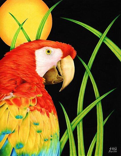 Bird in Paradise by Sheryl Unwin