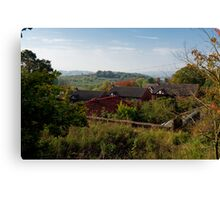 country roofs Canvas Print