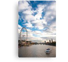 Thames River Canvas Print