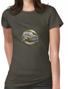 Mini gold Womens Fitted T-Shirt