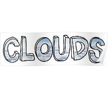 Clouds - One Direction  Poster