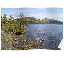 Loch Lomond Landscape, Scotland Poster