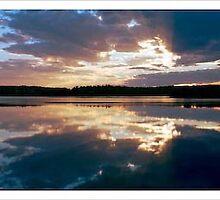 Okahanja Namibian Sunset by Michael Davies
