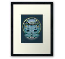 Gemini Full Moon   Framed Print