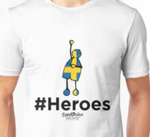 #Heroes Stockholm 2016 Unisex T-Shirt