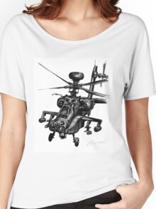 Ah-64D Apache Longbow Women's Relaxed Fit T-Shirt