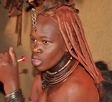 Himba Woman by Denise Ray