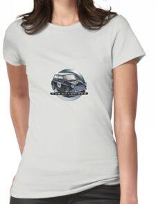 Mini black Womens Fitted T-Shirt