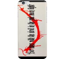 Dance with the devil??? iPhone Case/Skin